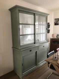 kitchen ideas – New Ideas Recycled Furniture, Painted Furniture, Cute Room Decor, China Cabinet, Living Room Furniture, Decoration, Kitchen Decor, Bookcase, Sweet Home