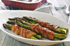 Bacon-Wrapped Asparagus Bundles | Life, Love, and Good Food