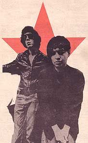 Martin Rev and Alan Vega of Suicide