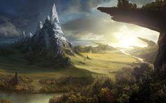 Fantasy_The_fantasy_world_      _ HD wallpaper