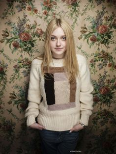 Dakota Fanning photographed by Victoria Will at the Sundance Film Festival