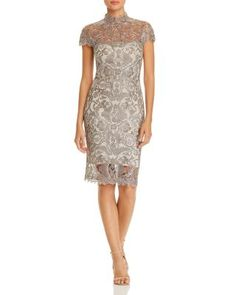 ec45516a64a Tadashi Petites Tadashi Shoji Petites Embroidered Illusion Dress Women -  Petites - Bloomingdale s. Illusion DressTadashi ShojiBride DressesMother ...