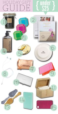 In case you wanted to know what to get me - @Amanda Kempisty - those DVF ear buds are what I'm all about! :)) Holiday Gift Guide – Under $25