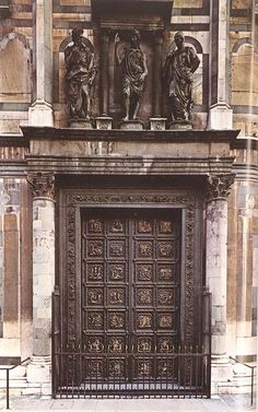 GHIBERTI, Lorenzo North Doors 1401-25 Bronze Baptistry, Florence