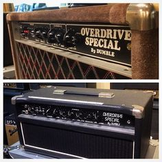 Just a couple of the Overdrive Specials by Dumble at Carter Vintage Guitar in…
