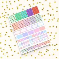 Planner Pages, Life Planner, Scrapbook Paper, Scrapbooking, Printable Planner Stickers, Printables, Craft Items, Planners, Stationery