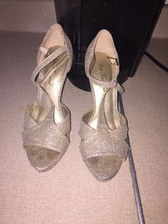 c8cd1b01d43 lulu townsend heels size 8 1 2  fashion  clothing  shoes  accessories