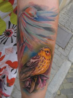 sparrow tattoo...coloring.