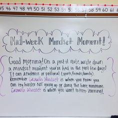 """""""My attempt at some mid-week motivation and reflection. My attempt at a Brittney inspired white board message. They had some really great moments to share…"""" Messages Matinaux, Morning Messages, Future Classroom, School Classroom, Classroom Ideas, Flipped Classroom, Teaching Tools, Teaching Resources, Teaching Ideas"""