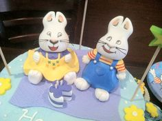 Max & Ruby Cake Toppers - by TCE