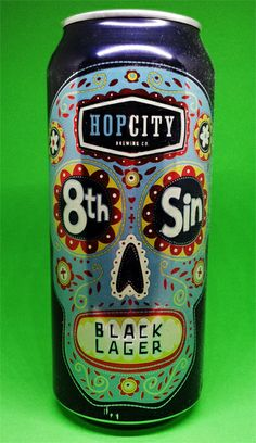 Happy May the 4th, with a beer Darth Vader would be Proud of.  Hop City's 8th Sin Black Lager