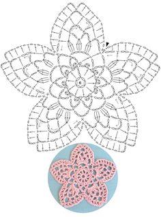 1 million+ Stunning Free Images to Use Anywhere Crochet Snowflake Pattern, Crochet Motif Patterns, Crochet Stars, Crochet Snowflakes, Crochet Mandala, Crochet Diagram, Crochet Designs, Crochet Stitches, Crochet Puff Flower
