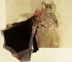 "Saatchi Art Artist Ute Rathmann; Painting, ""Hommage à Botticelli IX"" #art"