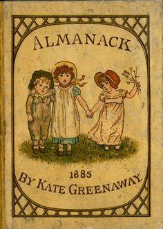 Kate Greenaway Almanack for 1885