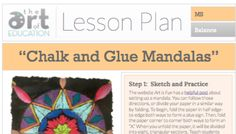 Level: Middle School Art Education Lesson Plan Art Elements: Line, Shape, Color Art Skills: Drawing, Mixed Media, Symmetry Making Connections: Mandalas * Get more free lessons like this, on our Lessons Page  Needing a project to calm and focus your students in the art room?Mandalasare the perfect lesson to help students get into the …