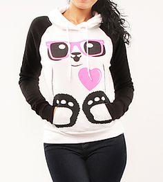 I want this Panda Sweat Shirt @Melissa Carmichael