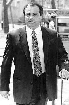 John 'Junior' Gotti's Family - His Uncle: Gene Gotti, Gambino soldier. Serving sentence for heroin trafficking at US Penitentiary in Pollock, La. Projected release date of Sept. Gangster Quotes, Real Gangster, Mafia Gangster, Italian Mobsters, Gangster Party, Big Ang, Mafia Crime, Mafia Families, John Junior