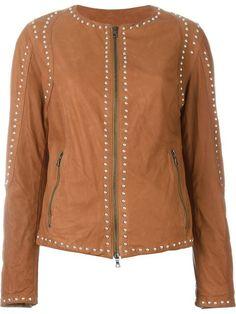DROME studded zipped jacket. #drome #cloth #jacket