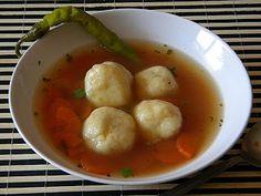 Sarokkonyha: Burgonyagombóc leves
