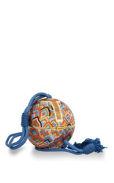 Oriental Sphere Minaudiere by HERITAGE AUCTIONS SPECIAL COLLECTION for Preorder on Moda Operandi