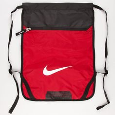 NIKE Team Training Cinch Sack ($16) ❤ liked on Polyvore