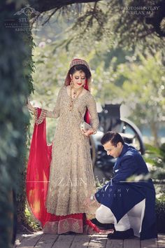 Pakistani bridal dress                                                                                                                                                                                 More