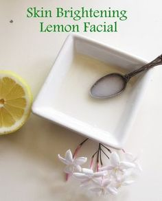 Skin-Brightening Lemon Facial