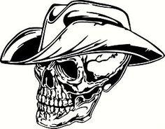 Texas cowboy skull tattoo tattoos pinterest texas for Cowboy silhouette tattoo