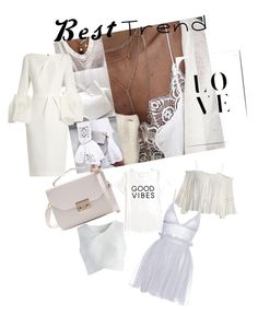 """Deu branco"" by patricia-sanches on Polyvore featuring Tommy Hilfiger, Sans Souci, Chicwish, Alexander McQueen and Roksanda"