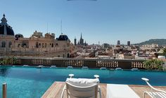 #Terrace #Bar @ Hotel OhLa, #Barcelona.  Discover the Top10 RoofTop bars of this amazing city, click on this photo!
