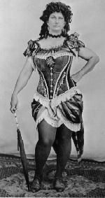 Women of the Old West | Somewhere between the petticoats and the finished coverage, a lady ...
