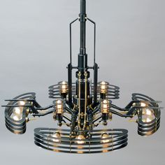 FRANK BUCHWALD MACHINE LIGHTS | Light objects and lighting design