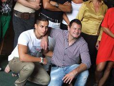 Erdei Zsolt és Aurelio (Celeb vagyok, ments ki innen!) Fotó: Vásárhelyi Dávid - Hír7