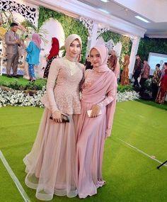 Model Baju Muslim Pesta Modern Kebaya Hijab, Kebaya Dress, Dress Pesta, Kebaya Muslim, Muslim Dress, Model Kebaya Modern Muslim, Baju India Muslim, Model Kebaya Brokat Modern, Dress Muslim Modern