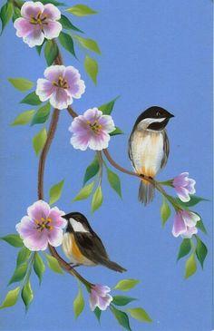 Flowers + birds