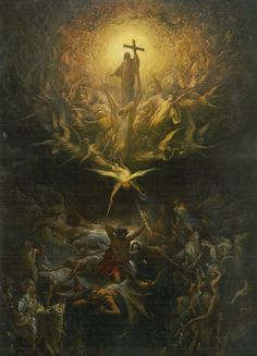 Gustave Doré - The Triumph of Christianity over Paganism (1868)