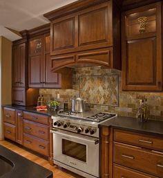 modern ideas for tiled kitchen backsplash designs