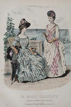 La Mode Illustree, 1888