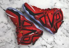 sports shoes 2e763 638bb Here s Your Best Look Yet at the Nike LeBron 12 Elite