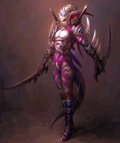 Demon Of The Blade Art