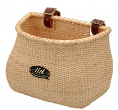 Amazon.com: Nantucket Bike Basket CompanyLightship Collection Classic/Tapered Natural Bicycle Basket (Tan, 12 X 7.5 X 9): Sports & Outdoors