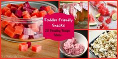 Toddler Friendly Snacks 20 healthy recipe ideas