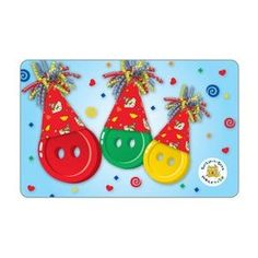 Build-A-Bear Party Gift Card