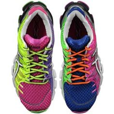 Oh my Candice loves! ASICS® Gel - Kinsei 4 - Women's (love that the left right shoes are different colored) Asics Running Shoes, Asics Shoes, Nike Running, Running Women, Marathon, Asics Gel Kinsei, Workout Shoes, Workout Style, Workout Wear
