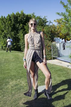 Coachella Street Style 2016: The Best Festival Fashion  - Coachella Street Style