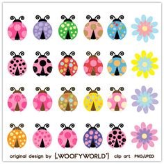 Ladybugs in all colors - not a valid link