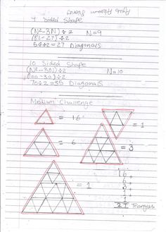 Maths Student's work!