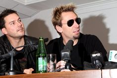 Nickelback's press conference - Pictures - Zimbio