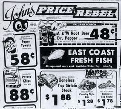 Ad for John's Red Owl in Duluth, Minnesota Red Owl, Duluth Minnesota, A&w Root Beer, A Dime, Twin Cities, Old Pictures, Old Town, Vintage Photos, Ads