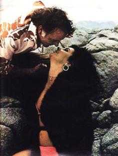 Richard Burton and Elizabeth Taylor, 1970s.